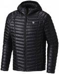 Mountain Hardwear Ghost Whisperer Hooded Down Jacket Herren black XL 2019 Winter