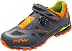 Northwave Spider Plus 2 Shoes Men anthra/black/orange 47 2018 Fahrradschuhe, Gr.