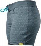 NRS Beda Board Shorts Women Ash Gray Peacock 10 | 38 2017 Board Shorts, Gr. 10 |