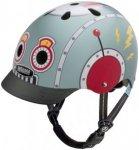 Nutcase Little Nutty Street Helmet Kids Tin Robot XS | 48-52cm 2019 Kinderbeklei