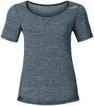 Odlo Revolution TW Light Shirt S/S Crew Neck Women grey melange XL 2017 Laufunte