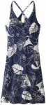 Patagonia Amber Dawn Dress Women Valley Flora: Classic Navy/Rosewater S 2018 Kle