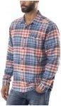 Patagonia Fjord Lightweight LS Flannel Shirt Men Rootsy: Railroad Blue XXL 2018