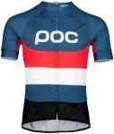 POC Essential Road Logo Jersey Herren prismane multi red XL 2019 Fahrradtrikots,