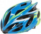 Rudy Project Rush Helmet Azur-Lime Fluo (Shiny) 51-55 cm 2018 Fahrradhelme, Gr.