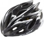 Rudy Project Rush Helmet Black-White (Shiny) 59-62 cm 2018 Fahrradhelme, Gr. 59-
