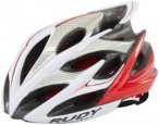 Rudy Project Windmax Helmet White-Red Fluo (Shiny) 59-61 cm 2018 Fahrradhelme, G