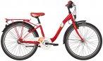 """s'cool chiX 24 3-S steel Red 24"""" 2019 Jugend- & Kinderfahrräder, Gr. 24"""""""