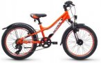 "s'cool troX urban 20 7-S alloy Neon Orange 20"" 2018 Jugend- & Kinderfahrräder,"