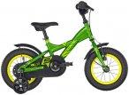 "s'cool XXlite 12 steel Kinder green/yellow 12"" 2019 Jugend- & Kinderfahrräder,"
