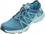 Salomon Crossamphibian Swift Shoes Women Mallard Blue/Blue Curacao UK 8   EU 42