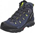 Salomon Quest Prime GTX Hiking Shoes Men Navy Blazer/Ombre Blue/Lime Punch 10 UK