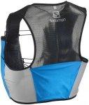 Salomon S/Lab Sense 2 Bag Set Transcend Blue/Black M 2018 Trinkgürtel & Trinkwe