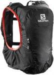 Salomon Skin Pro 10 Bag Set Black/Bright Red  2018 Laufrucksäcke