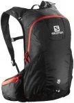 Salomon Trail 20 Backpack Black/Bright Red  2018 Laufrucksäcke