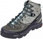 Salomon X Alp LTR GTX Wanderschuhe Damen shadow/castor gray/aruba blue UK 4,5 |