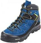 Salomon X Alp LTR GTX Mid Hiking Shoes Men Black/Poseidon/Sulphur Spring 43 1/3