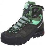 Salomon X Alp MTN GTX Hiking Shoes Women asphalt/light tt/jade green 38 2/3 2017