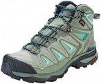 Salomon X Ultra 3 Mid GTX Shoes Women Shadow/Castor Gray/Beach Glass UK 8 | EU 4
