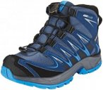 Salomon XA Pro 3D Mid CSWP Shoes Kinder slateblue/blue depth/bright blue EU 32 2