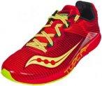 saucony Type A 8 Running Shoes Men Red/Citron US 12,5 | EU 47 2018 Straßenlaufs
