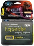 Sea to Summit Expander Liner Traveller with Pillow Slip navy blue  2019 Inlets &