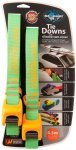 Sea to Summit Tie Downs with Silicone Cam Cover Strap 4,5 m Pair lime/orange  20