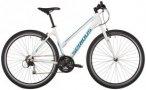 "Serious Cedar Trapez Hybrid shiny white 48cm (28"") 2018 Trekkingräder, Gr. 48cm"