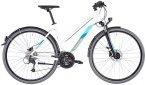 """Serious Sonoran Street Trapez white glossy 52cm (28"""") 2020 Trekkingräder, Gr. 5"""