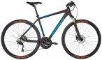 "Serious Tenaya Herren black matt/blue 50cm (28"") 2019 Trekkingräder, Gr. 50cm ("