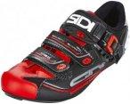 Sidi Genius 7 Shoes Herren black/red EU 39 2019 Fahrradschuhe, Gr. EU 39