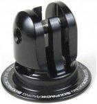 Sixpack Aheadcap Kamerahalterung black  2018 Helm- & Actionkameras
