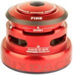Sixpack Fire 2In1 Headset ZS44/28.6 I EC49/30 and ZS44/28.6 I EC49/40 red  2018