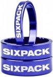"Sixpack Spacer 1 1/8"" blau  2019 Krallen, Spacer & Kleinteile"