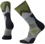 Smartwool PhD Outdoor Approach Crew Socks Unisex Medium Gray XL | 46-49 2018 Tre