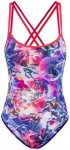 speedo Digi Xback Swimsuit Girls lava red/pink/deep lilac DE 188 | US 36 2017 Sc