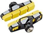 SwissStop Full FlashPro Bremsbeläge für Shimano/SRAM Carbon gelb/schwarz  2020