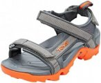 Teva Tanza Sandals Youth Grey/Orange 32 2017 Freizeit Sandalen, Gr. 32