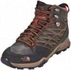 The North Face Hedgehog Hike Mid GTX Shoes Men Demitasse Brown/Rudy Red 9 (EU 42
