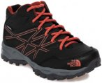 The North Face Hedgehog Hiker Mid WP Shoes Kinder TNF black/mandarin red EU 32 2