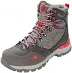 The North Face Hedgehog Trek GTX Shoes Women Dark Gull Grey/Melon Red 7 (EU 38)