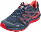 The North Face Ultra Cardiac II Shoes Men Shady Blue/High Risk Red US 11 (EU 44,