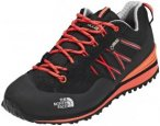 The North Face Verto Plasma II GTX Shoes Women TNF Black/Radiant Orange 41,5 201