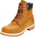 "Timberland Icon Collection Premium Boots Men 6"" Medium Orange Nubuck US 15 