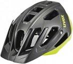 UVEX Quatro Helmet black-neon lime 52-57 cm 2018 Fahrradhelme, Gr. 52-57 cm