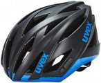 UVEX ultrasonic race Helm black mat-blue 55-58 cm 2016 Fahrradhelme, Gr. 55-58 c