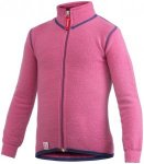 Woolpower 400 Full Zip Jacket Kids sea star rose 110/116 2018 Freizeitjacken, Gr