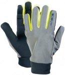 Wowow Dark 2.0 Handschuhe Unisex reflektierend grau/gelb M 2018 Accessoires, Gr.