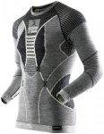 X-Bionic Apani Merino By Fastflow Long Sleeve Shirt RN Men Black/Grey/Ivory S/M