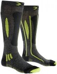 X-Bionic Effektor Race Ski Socks Men Grey/Black/Lime 45/47 2018 Wintersport Sock